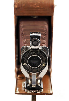 Vintage Camera Print by John Rizzuto