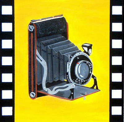 Vintage Camera Print by Karyn Robinson