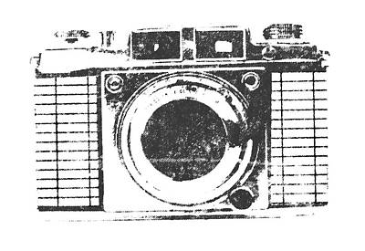 Vintage Camera Print by Martin Newman
