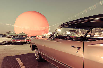 Orange Julep Photograph - Vintage Car Meet At The Julep by Martin New
