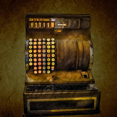 Early 1900s Photograph - Vintage Cash Register by Paul Freidlund