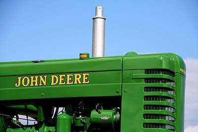Country Living Photograph - Vintage Deere by Michael Allen
