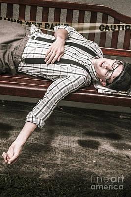 Homeless Photograph - Vintage Homeless Man by Jorgo Photography - Wall Art Gallery
