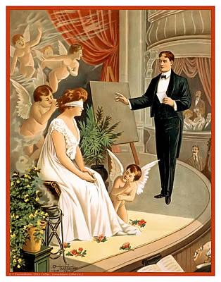 America Mixed Media - Vintage Hypnotism by Terry Reynoldson