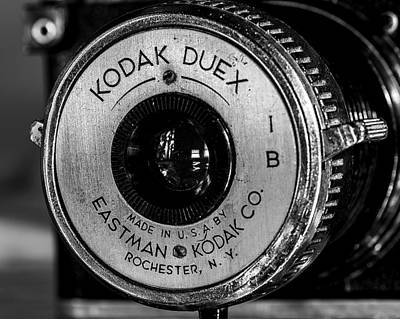 Kodak Photograph - Vintage Kodak Duex Detail by Jon Woodhams