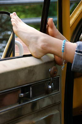 Ankle Bracelet Photograph - Vintage Life by Tara Fisher