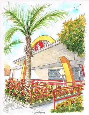 Vintage Mcdonald's In Whittier - California Original by Carlos G Groppa