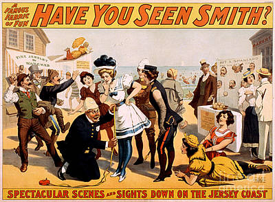 Vintage Nostalgic Poster - 8046 Print by Wingsdomain Art and Photography