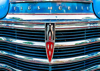Classic Auto Photograph - Vintage Olds by Jon Woodhams