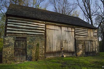 Pennsylvania Barns Digital Art - Vintage Pennsylvania Barn by Bill Cannon