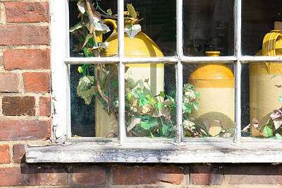 Clay Pottery Photograph - Vintage Pots by Tom Gowanlock
