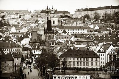 Vintage Prague Print by John Rizzuto