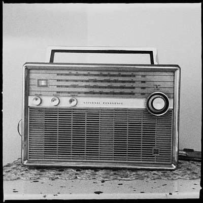 Vintage Radio Print by Marco Oliveira
