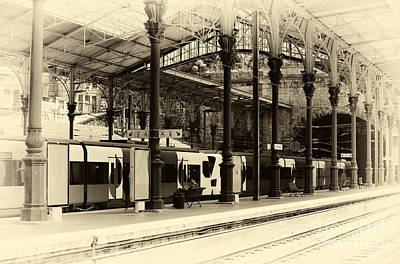 Porto Photograph - Vintage Sao Bento by John Rizzuto