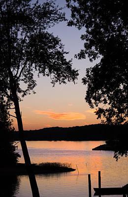 Lake Martin Photograph - Vintage Sunset by Parker Cunningham