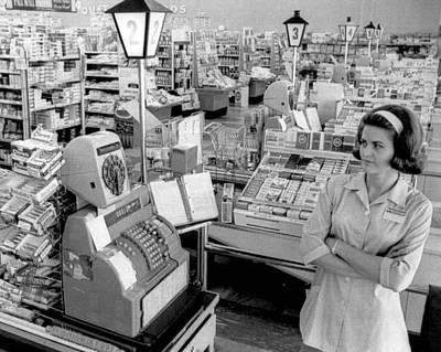 Vintage Supermarket Vintage #04 Fine Art Print Print by Retro Images Archive