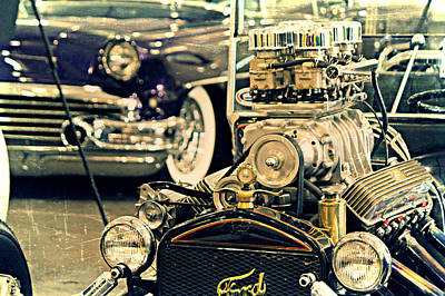 Cars Photograph - Vintage T At The Autorama by Steve Natale