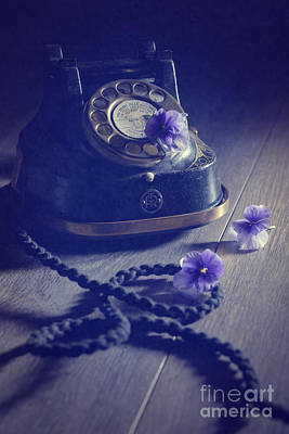 Vintage Telephone Print by Amanda And Christopher Elwell