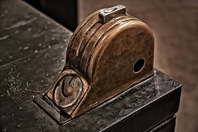 Tools Photograph - Vintage Token Machine by Susan Candelario