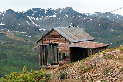 Vintage View Alaska Print by Ron Day