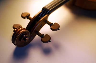 Violin Photograph - Violin Viii by Jon Neidert