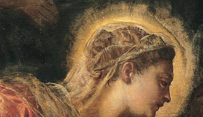 Virgin Mary  Print by Tintoretto