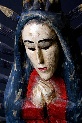 Virgin Of Guadalupe Print by Joe Kozlowski