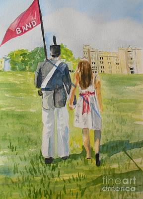 Vmi Painting - Virginia Military Institute by Jill Morris