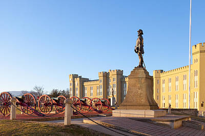 Vmi Photograph - Virginia Military Institute by Melinda Fawver