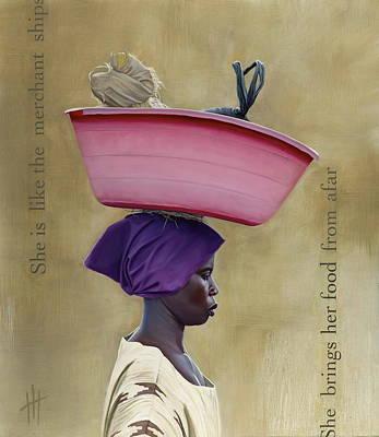 Virtuous Woman  Print by Hannah  Harris