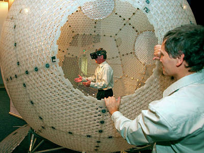 Simulator Photograph - Virtusphere Virtual Reality Platform by Nasa/sean Smith