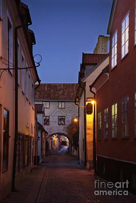 Visby Evening  Print by Ladi  Kirn