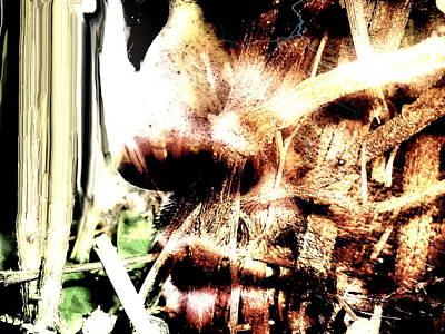 Visceral Mixed Media - Visceral 2014 by Beto Machado