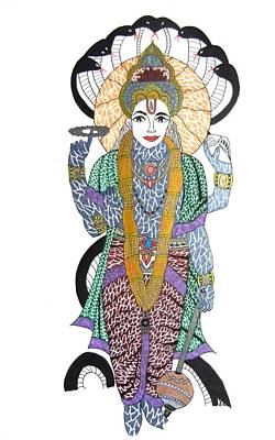 Vishnu II Original by Kruti Shah