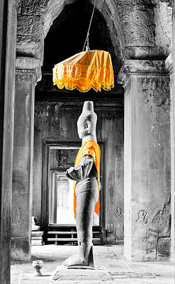 Asia Photograph - Vishnu Statue by Alexey Stiop