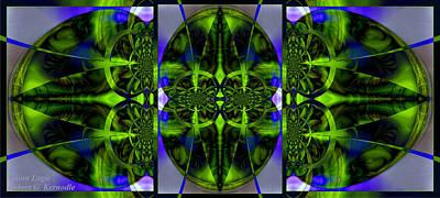 Huge Assemblage Photograph - Vision Logic by Robert Kernodle
