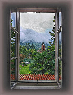 Fenster Photograph - Vision Through The Window by Hanny Heim