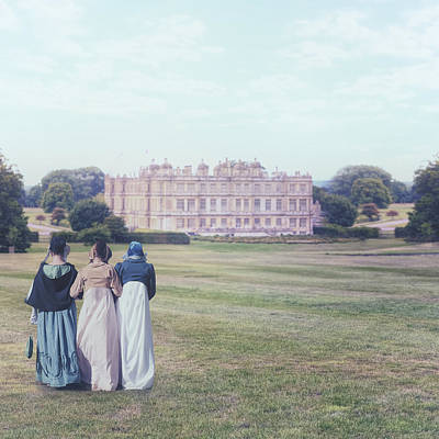 Manor Photograph - visiting Mr Darcy by Joana Kruse