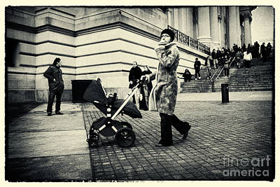 Filmnoir Photograph - Visiting The Metropolitan Museum New York City by Sabine Jacobs