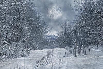 Snowstorm Photograph - Visual Quiet by Betsy C Knapp