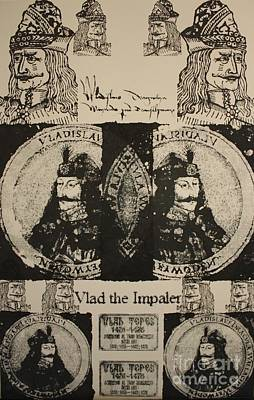 Vlad The Impaler Print by  Michael Kulick
