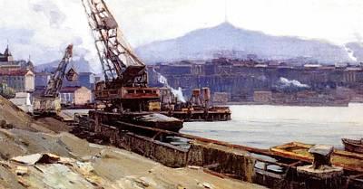 Vladivostok Vintage Art Prints Print by Jake Hartz