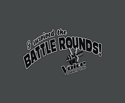 Shakira Digital Art - Voice - Battle Rounds by Brand A