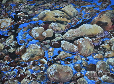Stein Mixed Media - Voice Of The Stones by Carla Stein