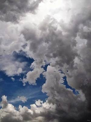 Cloudscape Digital Art - Voices In The Sky by Glenn McCarthy Art and Photography
