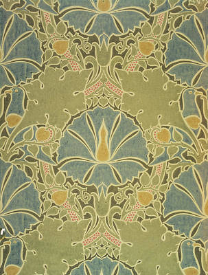 Nature Tapestries - Textiles Tapestry - Textile - Voisey The Saladin by William Morris