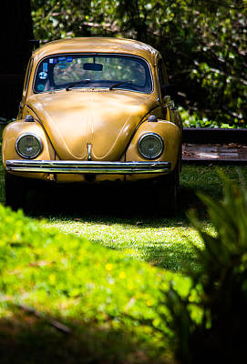 Volkswagen Beetle Print by Parker Cunningham