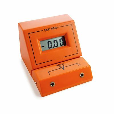 P.d Photograph - Voltmeter by Science Photo Library