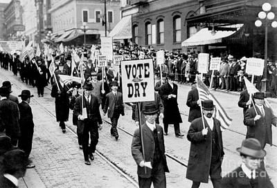Voted Photograph - Vote Dry by Jon Neidert