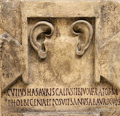 Anatomic Photograph - Votive Relief To Asclepius by Sheila Terry